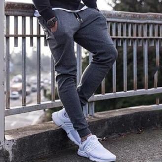 Men's Gym Jogger Pant Slim Fit Athletic Workout Sweatpants with Pockets