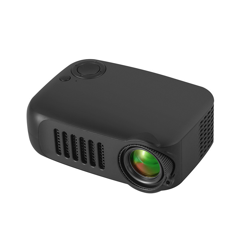 Home Mini Pocket Projector,iRULU Portable Movie Theater Projector with HDMI,USB,HiFi Speaker Support 1080P HD LED Entertainment Projector for Home,Outdoor,Theater Children's Education