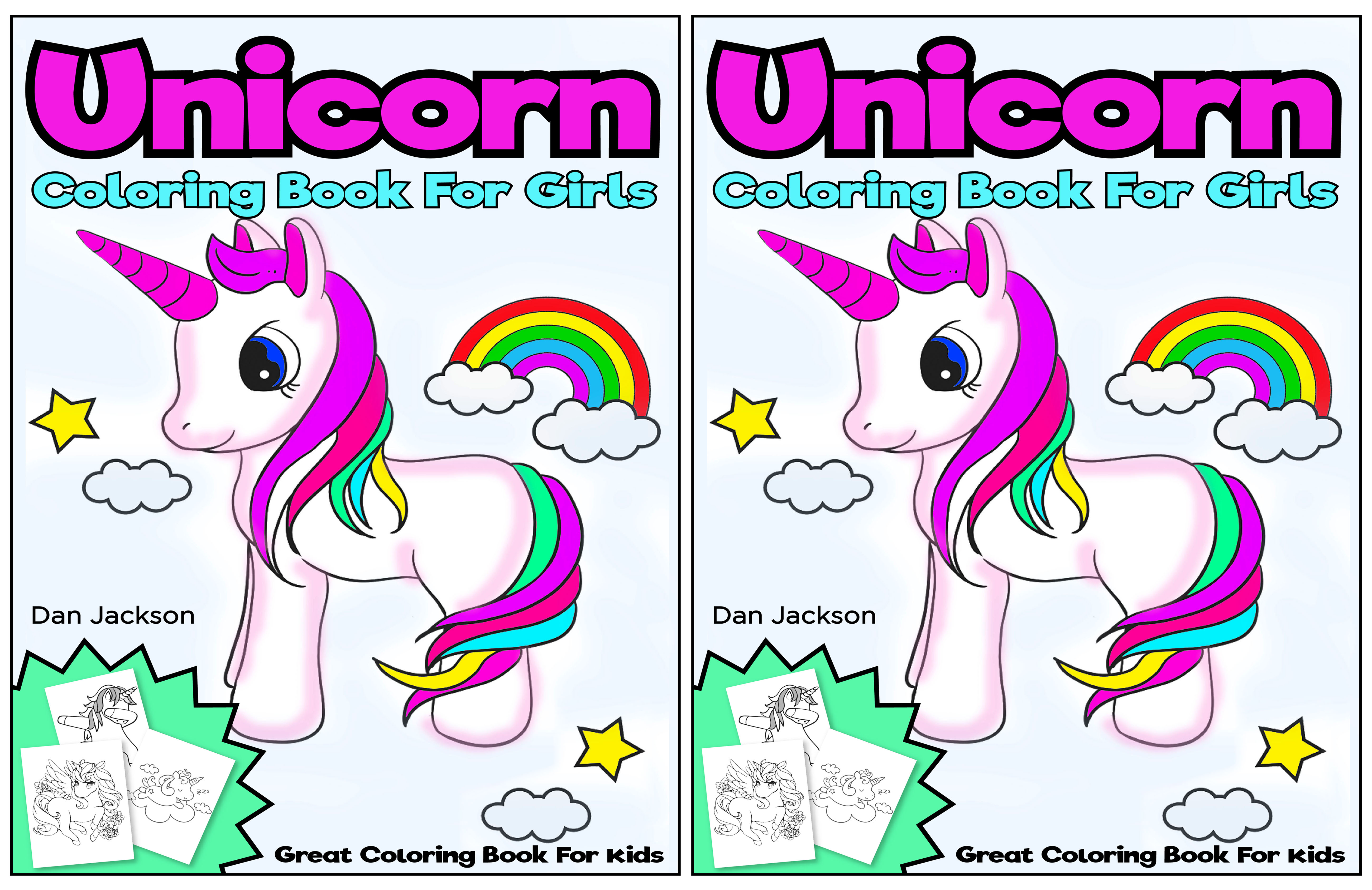 Unicorn Coloring book for girls ; Great coloring book for kids