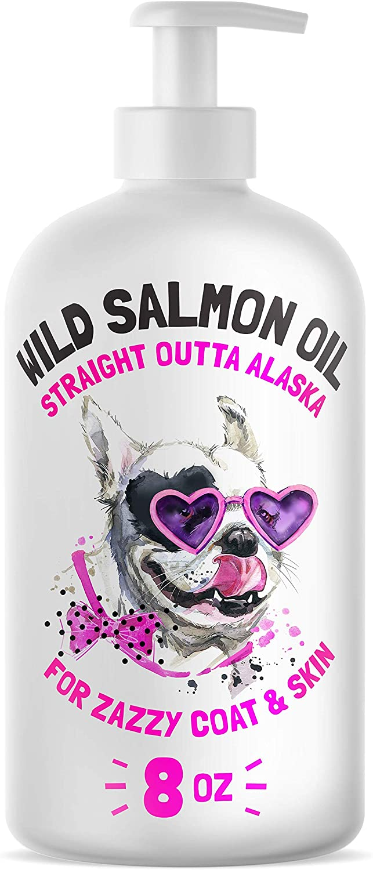 Wild Alaskan Salmon Oil for Dogs & Cats