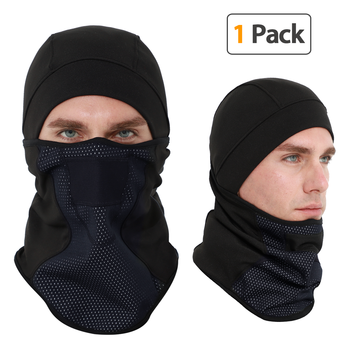 SHINYMOD Balaclava - Windproof Ski Mask Winter Cold Weather Face Motorcycle Mask Snowboard Cycling Hat Hunting Tactical Hood Neck Warmer Cover Hood Polyester Fleece for Men Women