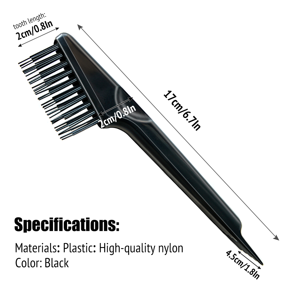 Hair Brush Cleaner tool, Comb Cleaning hairbrush, for Removing Hair and Debris, Black