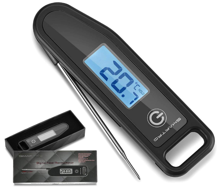 Meat Thermometer Instant Read Cooking Food Thermometer Digital Thermometer for Candy, BBQ, Kitchen, Grilling, Smoker
