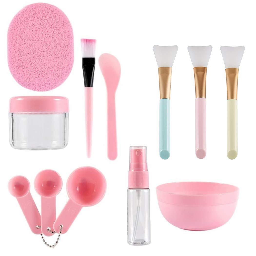 Face Mask Mixing Bowl Set, Coxeer 12Pcs Practical Assorted DIY Facemask Mixing Tool Kit DIY Facemask Care Tool Kit for Women Girls Makeup
