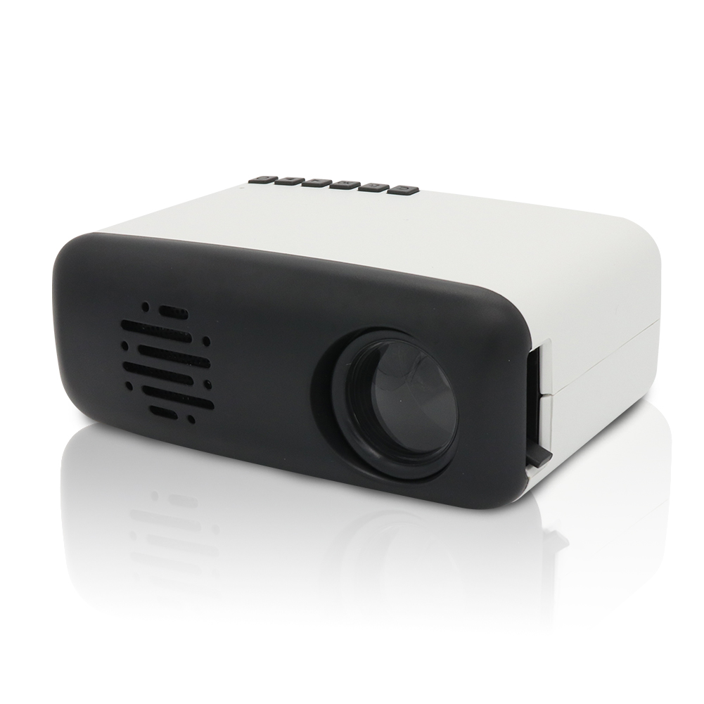 Mini Portable Projector,MERLINAE LED Projector Compatible for Computer,Movies and Video Games for Children Gift